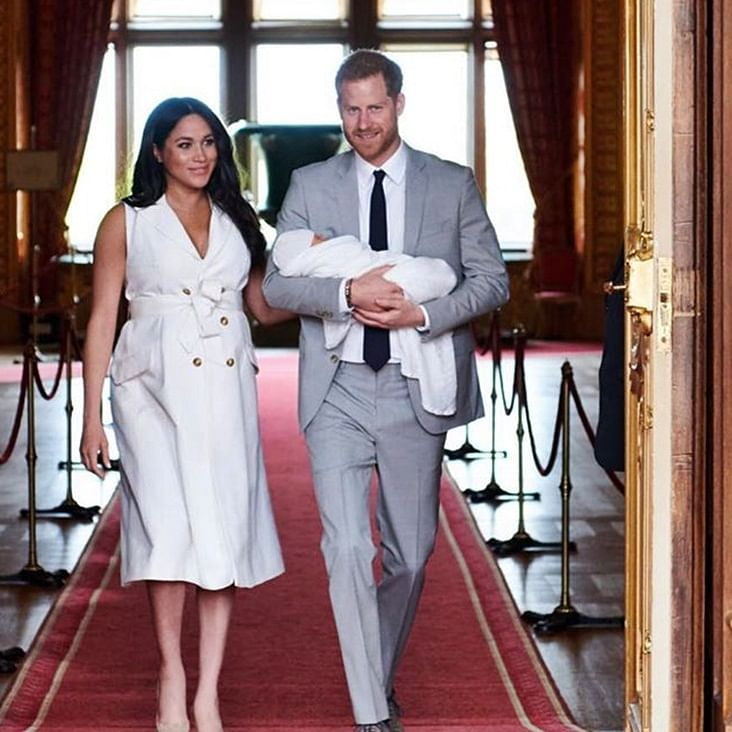 Prince Harry, Meghan Markle to visit Africa with son Archie