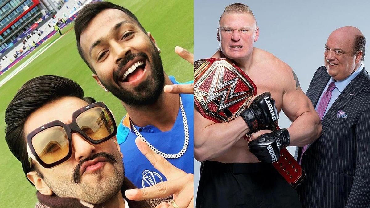 WWE star Brock Lesnar's advocate Paul Heyman sends legal notice to Ranveer Singh