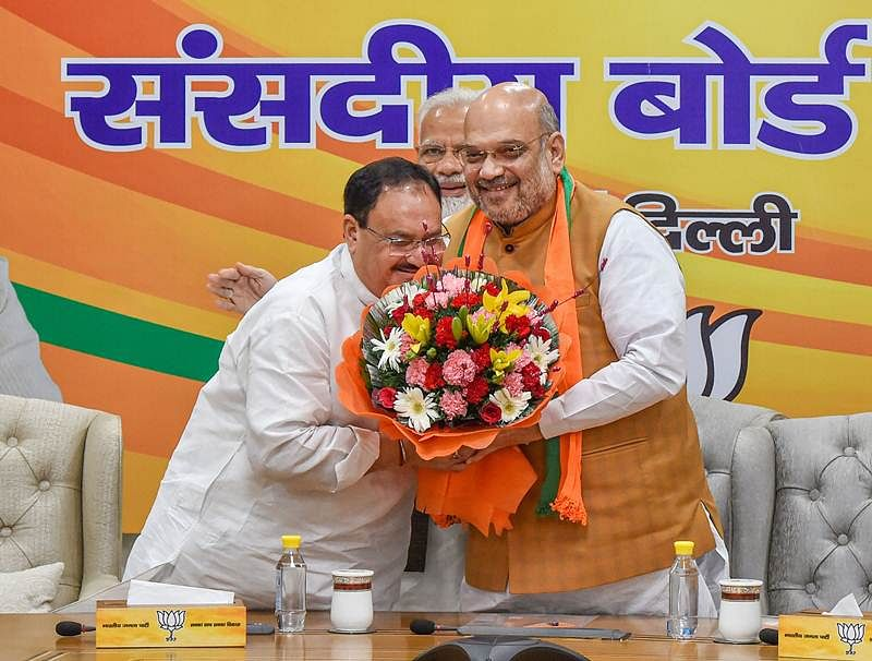 Amit Shah's era ends on an 'auspicious' note; JP Nadda likely to become new party President