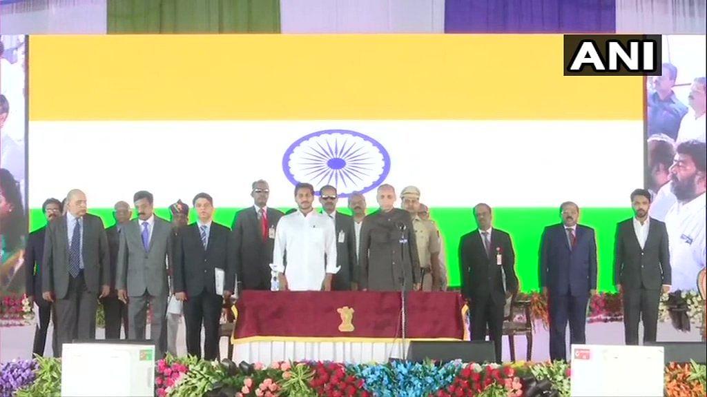 25-member Andhra Pradesh cabinet sworn-in under Chief Minister Jagan Mohan Reddy