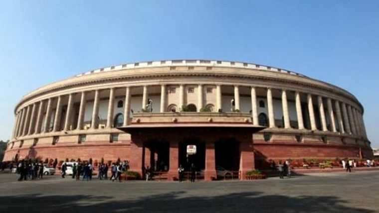 Parliament security breached, man held with knife