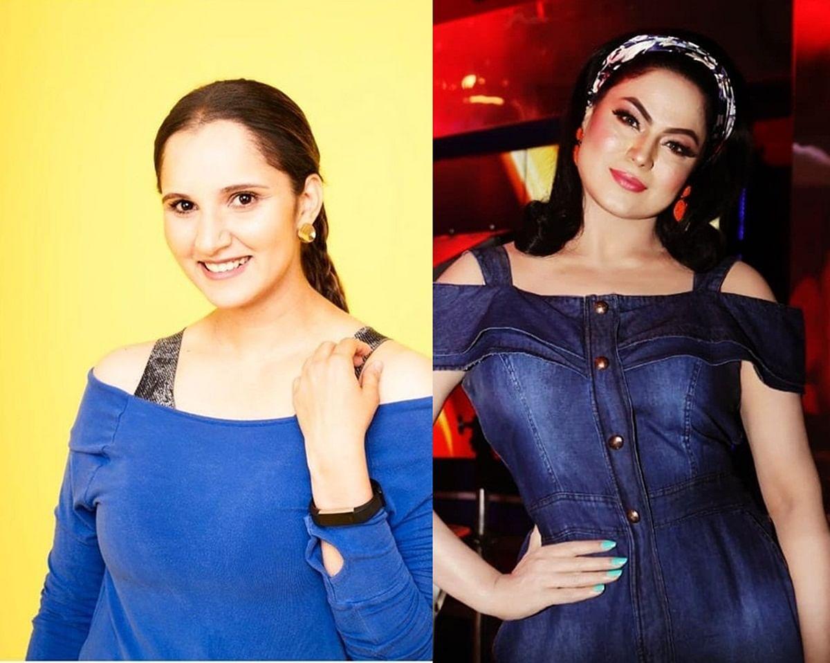 Sania Mirza, Veena Malik get into nasty Twitter spat after Pakistan loss