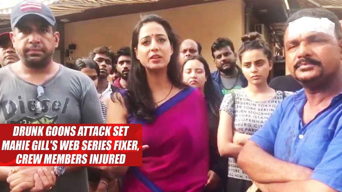 Drunk Goons Attack Set Of Mahie Gill's Web Series Fixer, Crew Members Injured