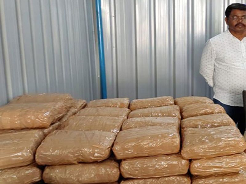 Indore: 2,000 kg cannabis worth Rs 3.1 crore seized, 4 arrested