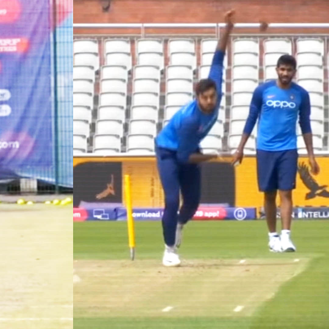 ICC WC 2019: Indian Players Flex Their Muscles Ahead Of Clash Against West Indies