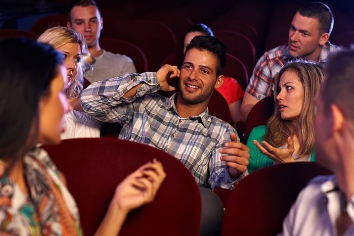 How not to lose it at the movies