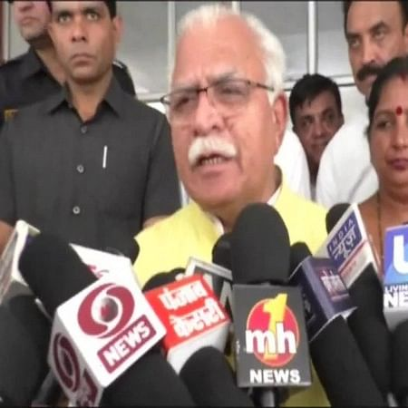Not aware of murder says Haryana Chief Minister Manohar Lal Khattar