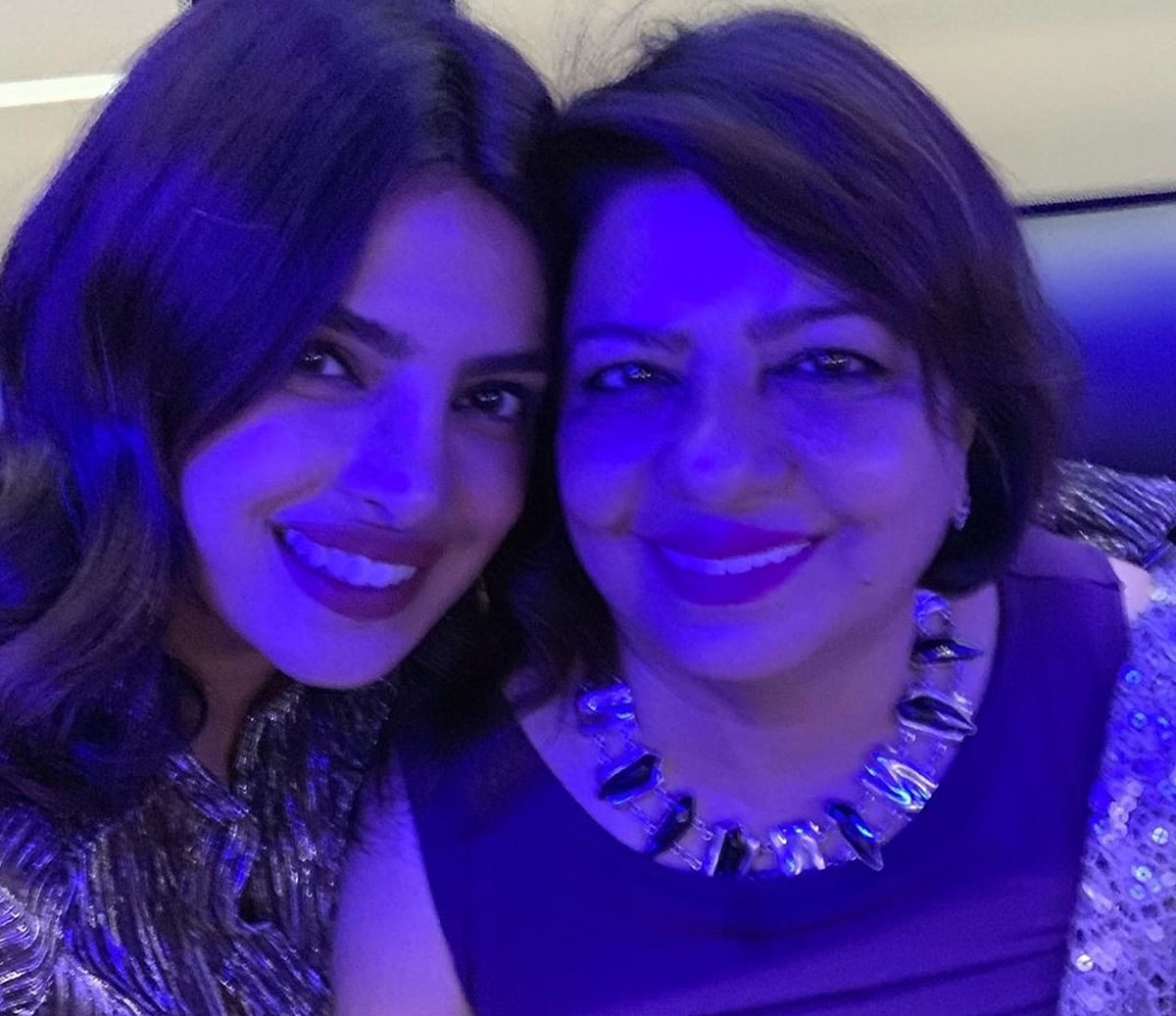 Priyanka Chopra, Nick Jonas shower love on 'birthday girl' Madhu Chopra