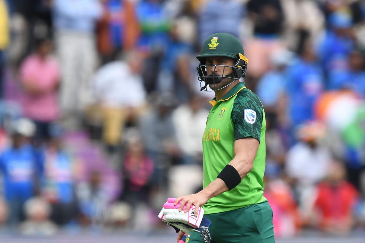 World Cup 2019: Faf Du Plessis, Rassie van der Dussen anchor Proteas