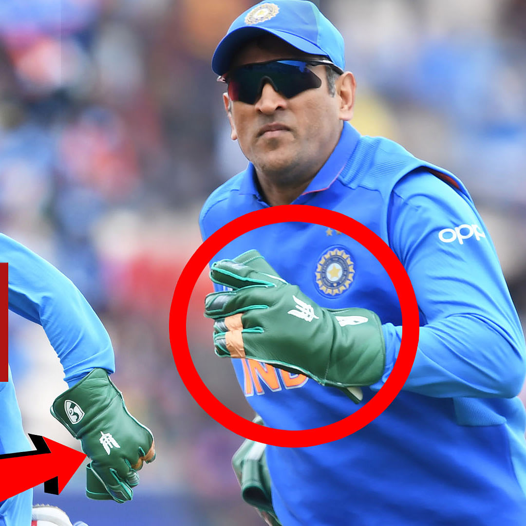 ICC Asks BCCI To Remove Army Insignia From MS Dhoni's Gloves