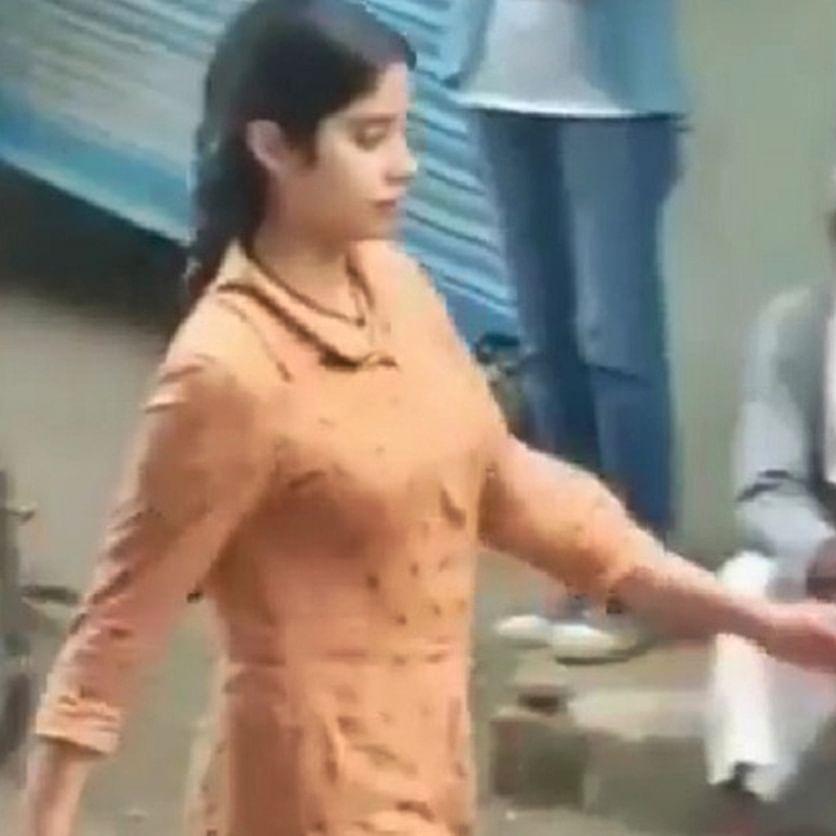 Janhvi Kapoor goes de-glam for 'RoohiAfza' during Uttarakhand shoot