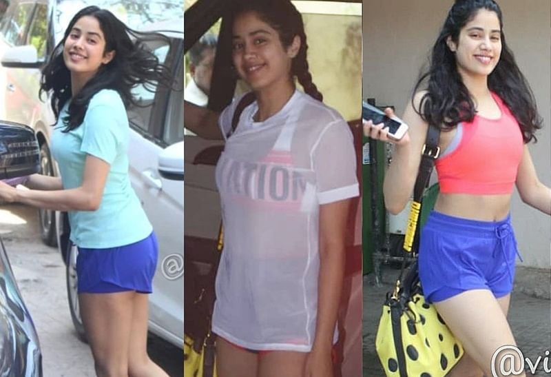 Did Janhvi Kapoor intentionally wear very short shorts after Katrina Kaif's comment?