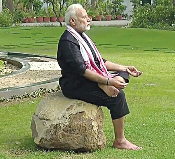 Rahul Gandhi lost as he does not do yoga