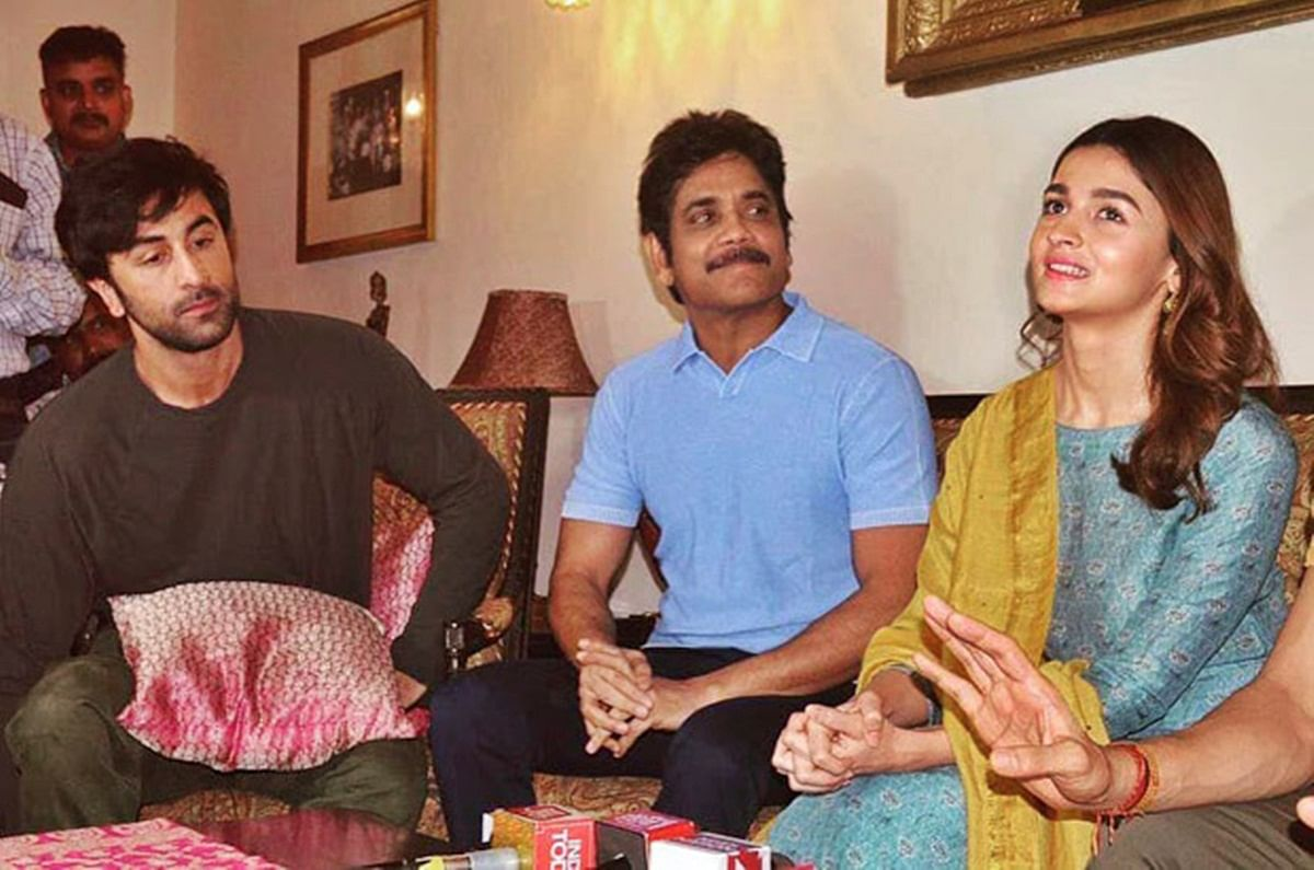 Nagarjuna and Mouni Roy joins 'Brahmastra' team in Varanasi