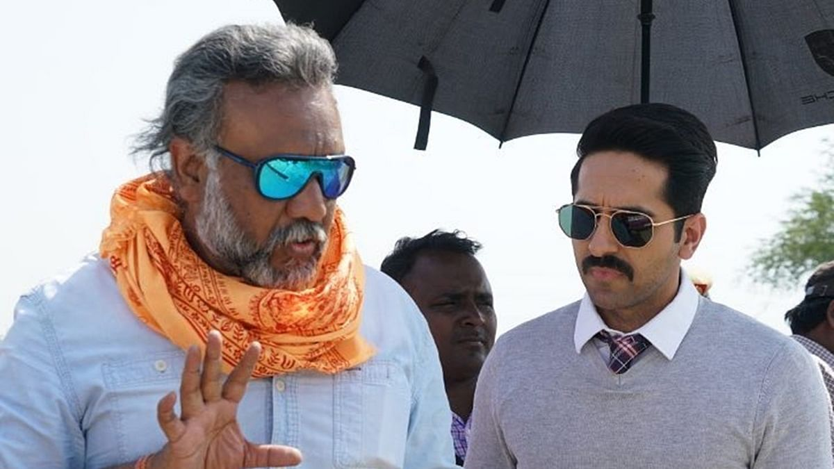 Ayushmann Khurrana wishes Anubhav Sinha on his birthday: 'Thank you for Article 15'