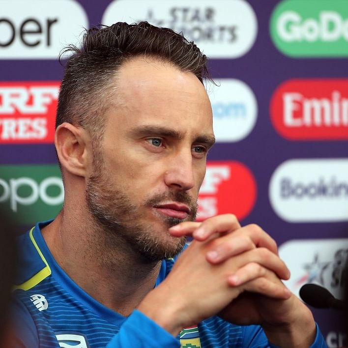 Faf du Plessis returns home with mental scars