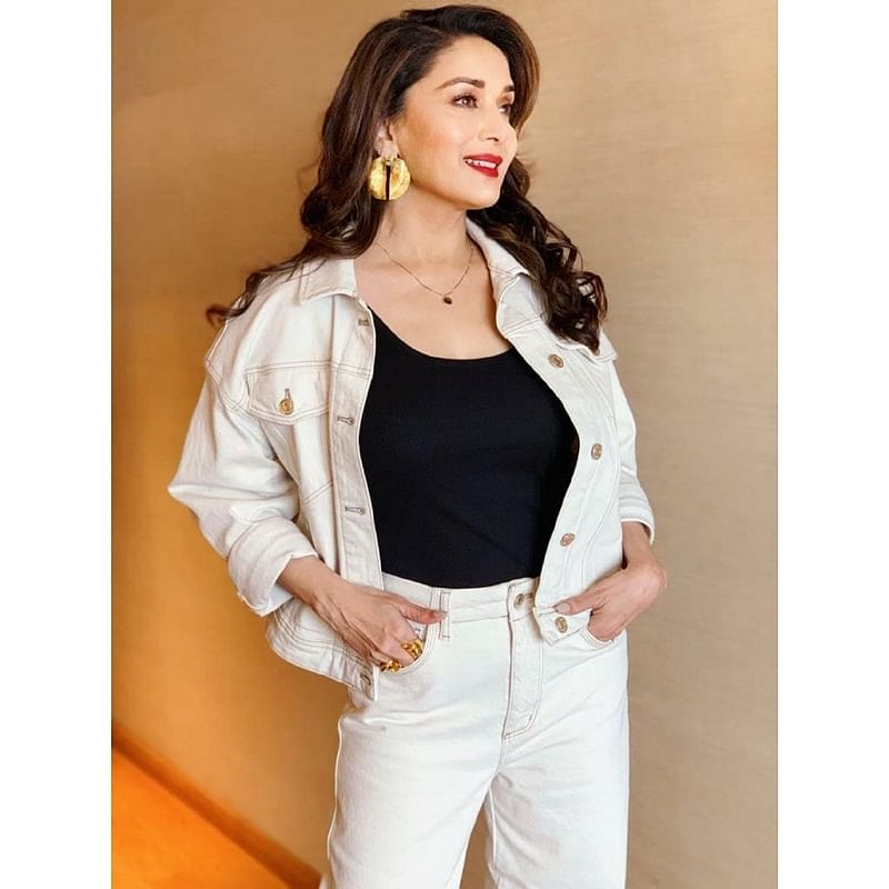 What is Madhuri Dixit mad about? Find out