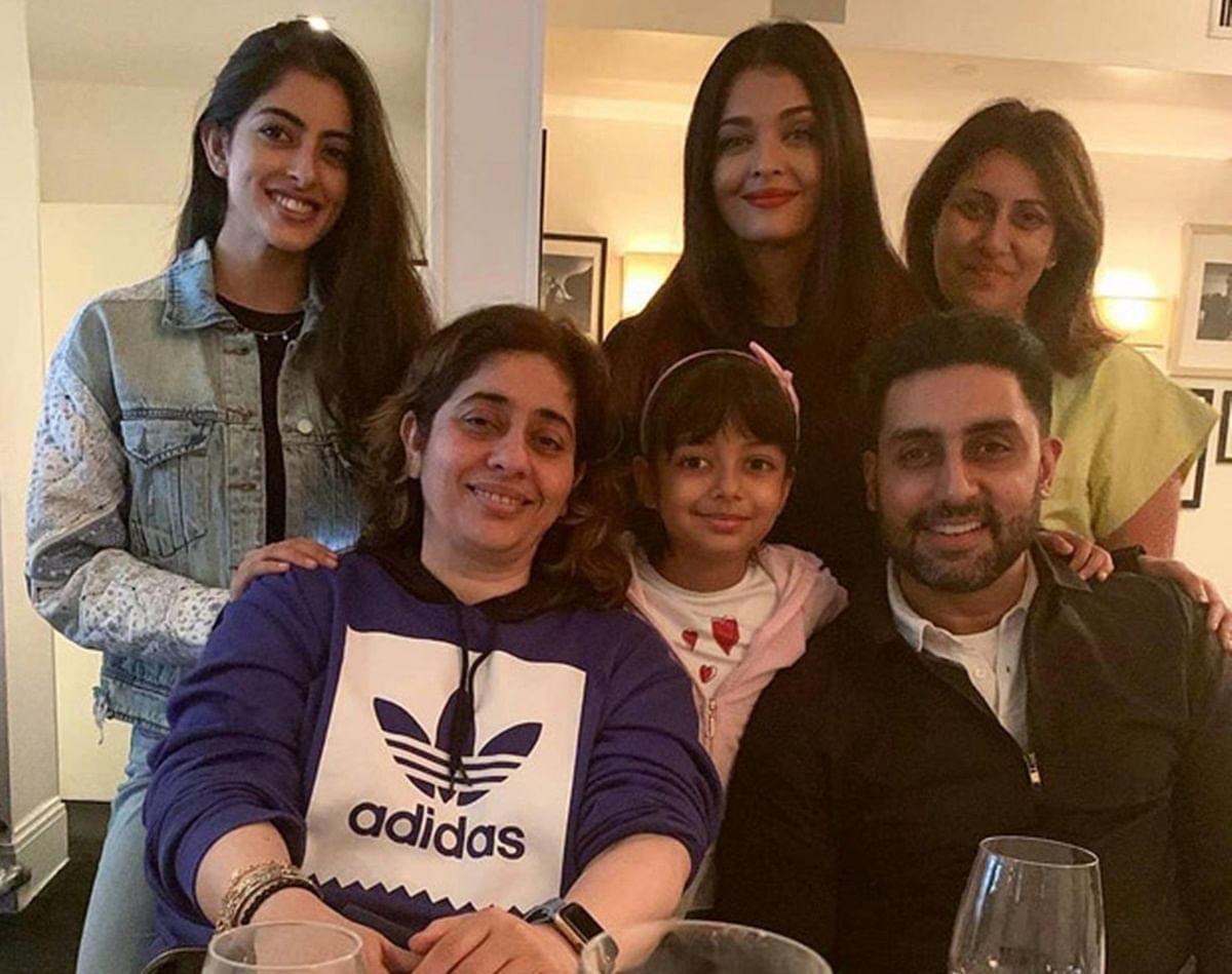Navya Naveli Nanda enjoys FAMJAM with Abhishek, Aishwarya and Aaradhya in New York