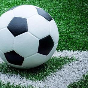 Kenneth Fernandes strikes for D'Souza Football Academy