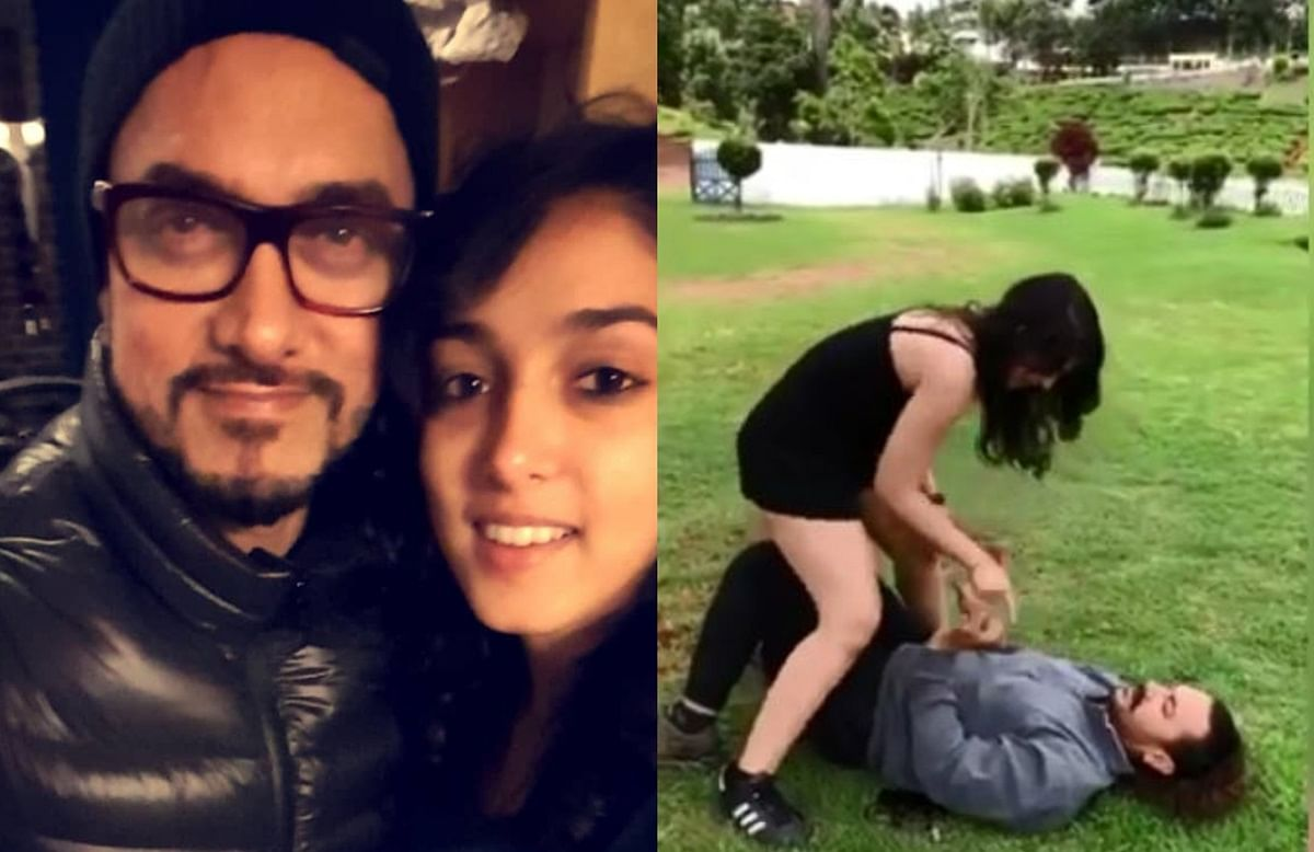 Ira Khan may not say, but finds her dad Aamir Khan COOL; shares an adorable Father's Day video