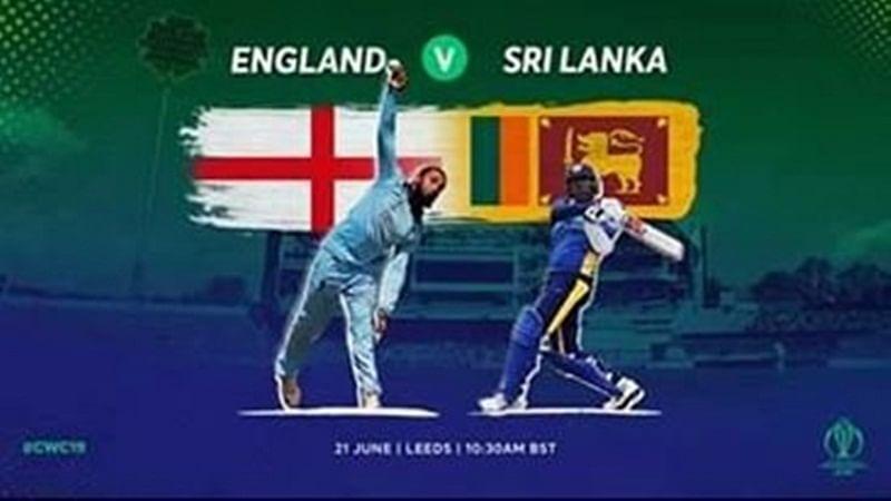 Cricket Score - England vs Sri Lanka World Cup 2019 Match 27
