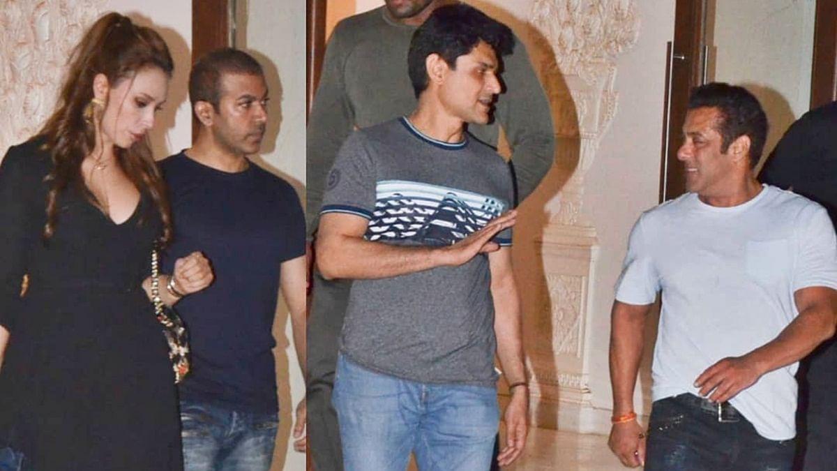 Arbaaz Khan's new residence party: Salman, Iulia Vantur, Aayush Sharma in attendance