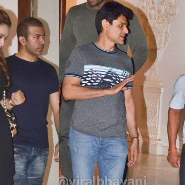 Arbaaz Khan's new residence party: Salman, Iulia Vantur, Aayush Sharma in attendance