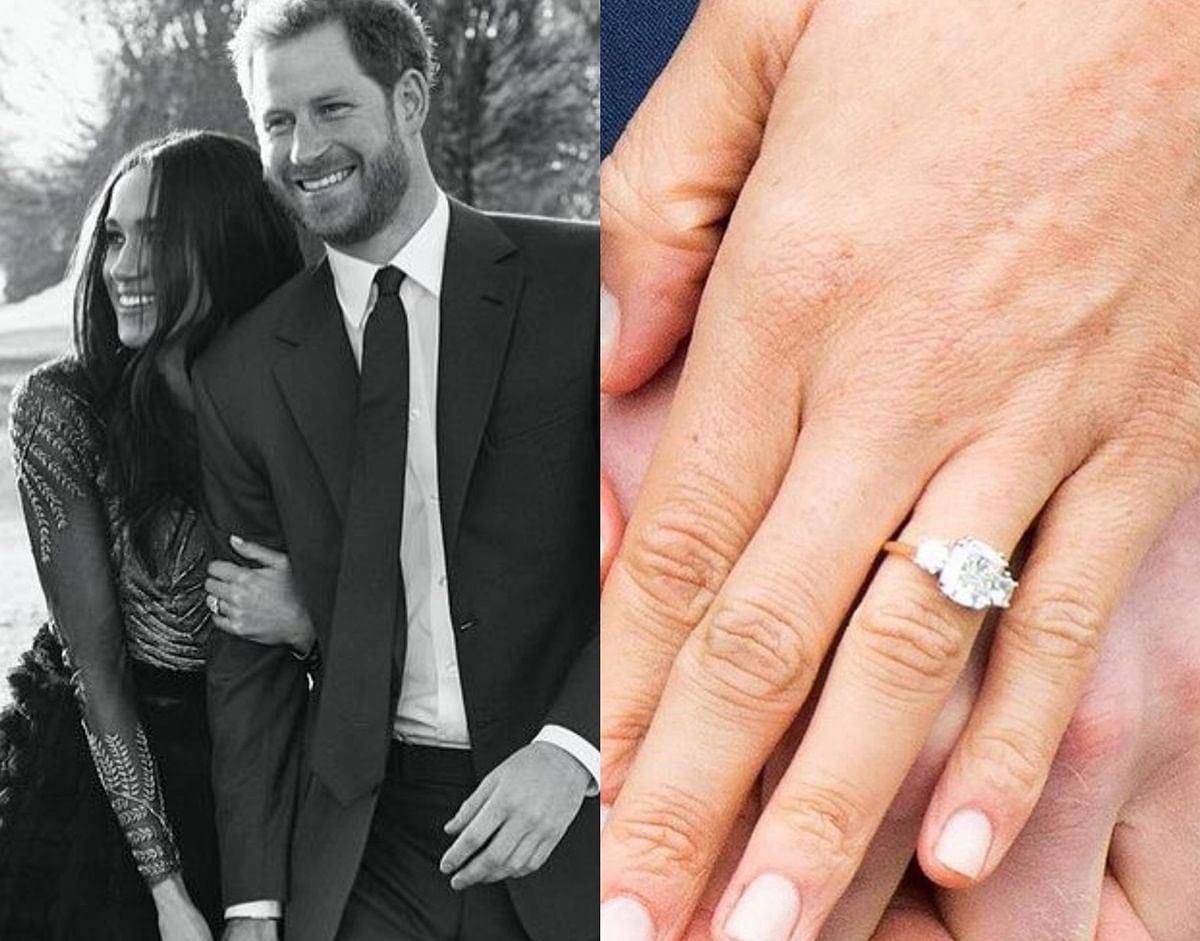 Check out Meghan Markle's engagement ring upgrade!