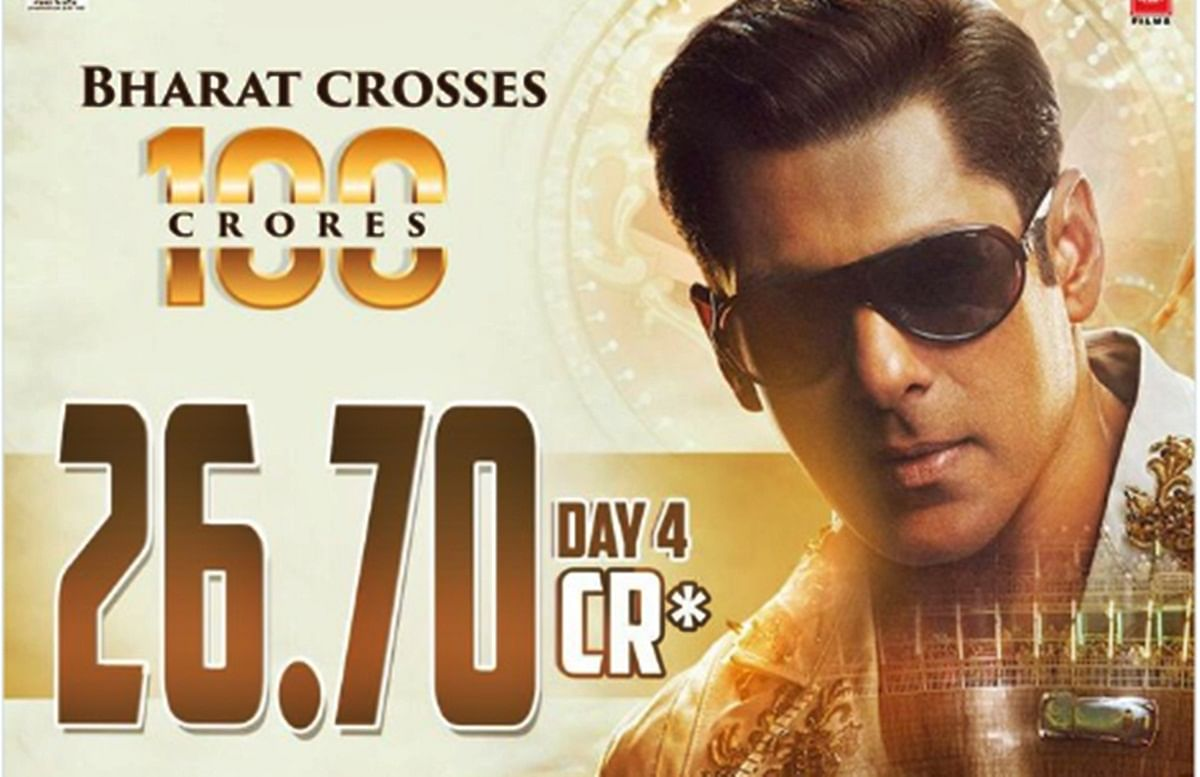 'Bharat' another Rs 100 cr feather in Salman Khan's cap