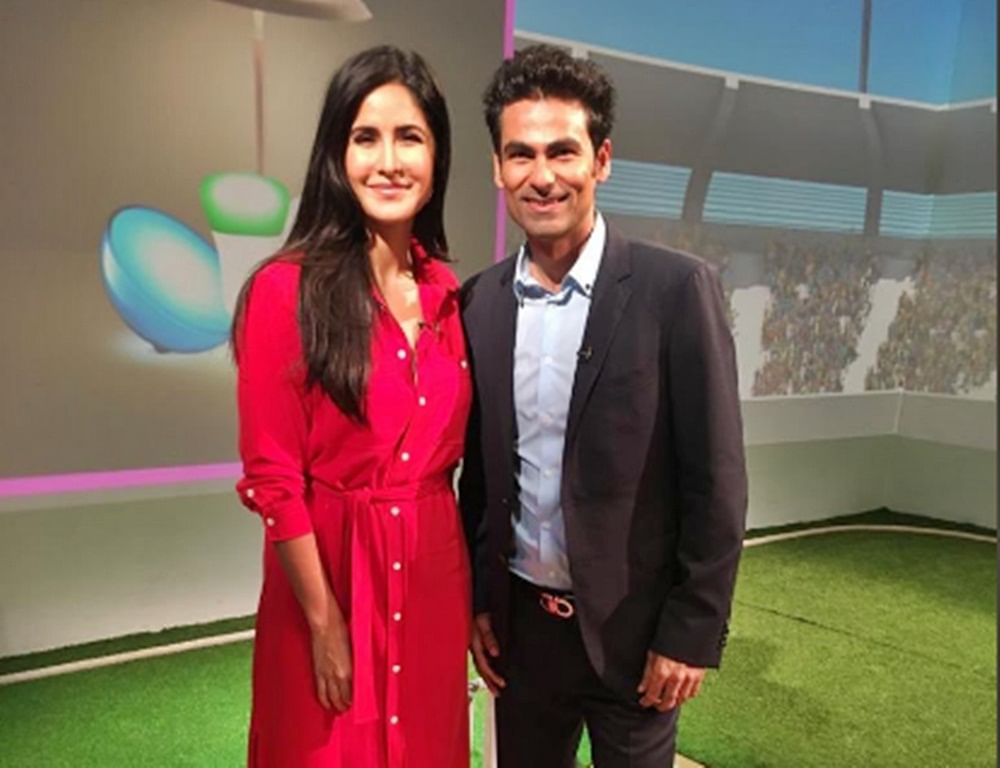 Finally the Kaifs meet: Mohammad Kaif meets Katrina Kaif