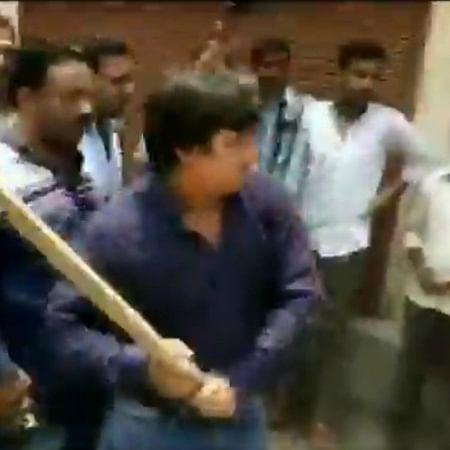 BJP MLA Akash Vijayvargiya arrested for attacking Municipal Corporation officer with bat