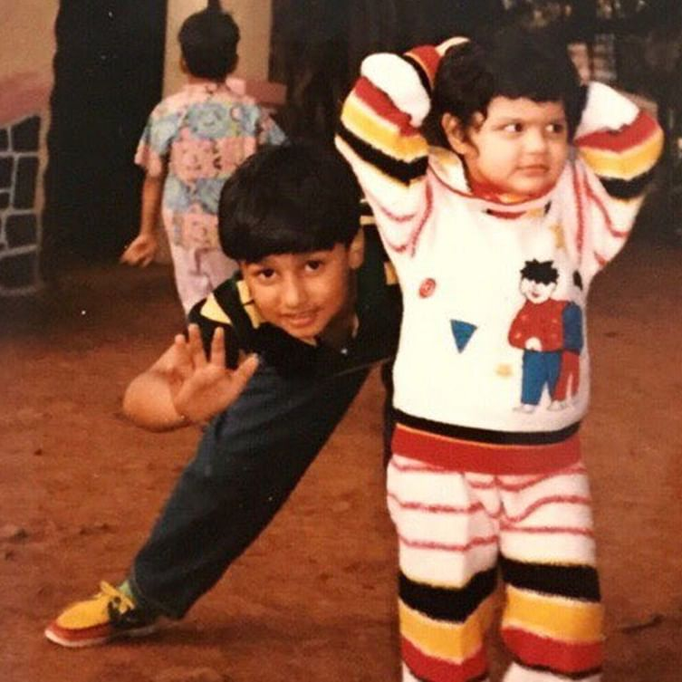 This cute throwback picture of Arjun Kapoor proves that he was born to face the camera!