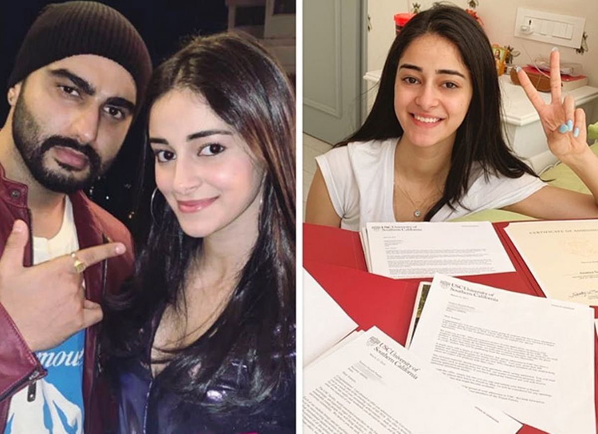 Arjun Kapoor helps Ananya Panday deal with trolls over USC admission post
