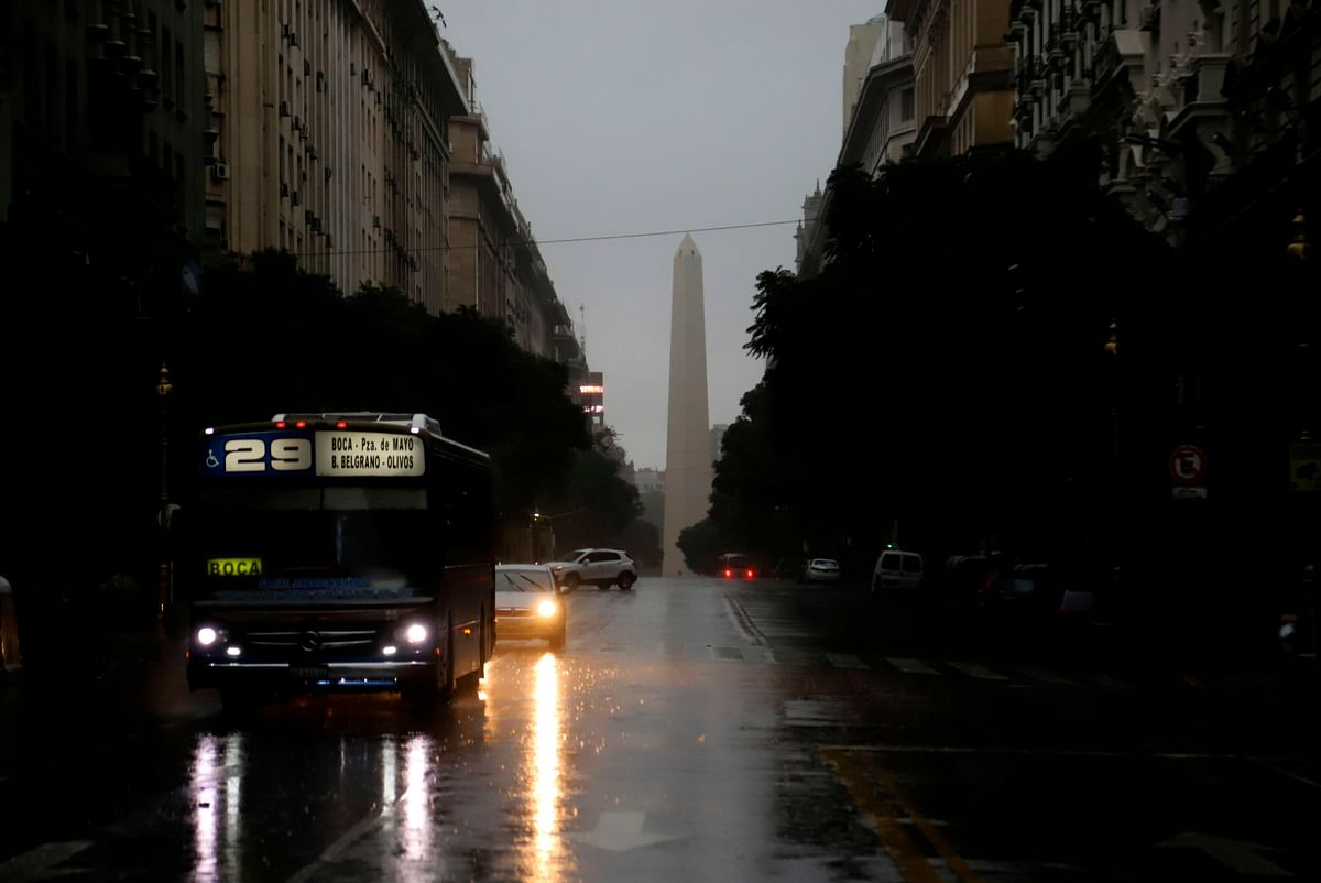 Argentina, Uruguay electricity restored in after historic blackout