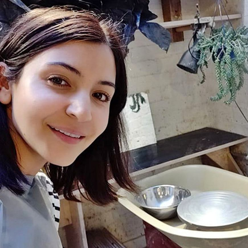 Anushka Sharma has enrolled herself in a pottery class!