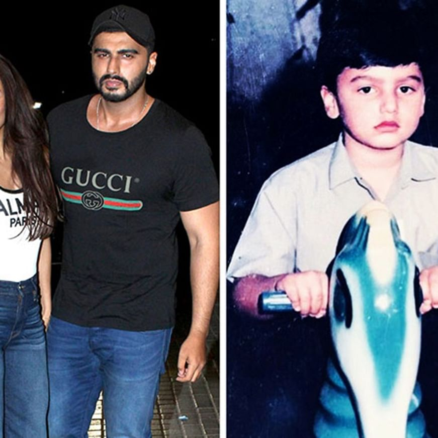 Malaika Arora calls Arjun Kapoor 'grumpy' in this photo; find out why