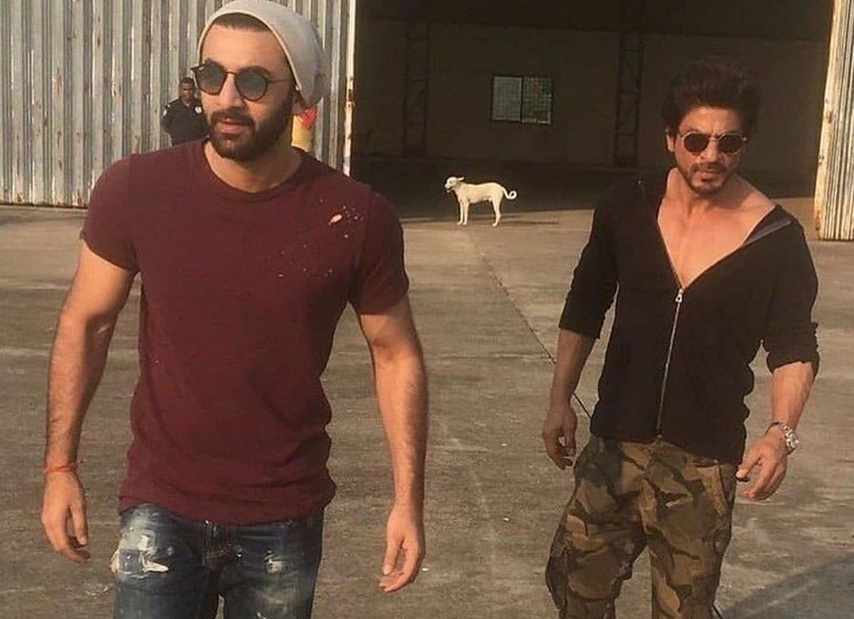 Find out why Shah Rukh Khan and Ranbir Kapoor's recent picture is all the crazy on social media