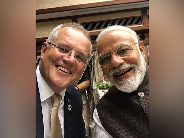 Australian PM Scott Morrison tweets selfie with PM Modi, says 'Kithana acha he Modi!'