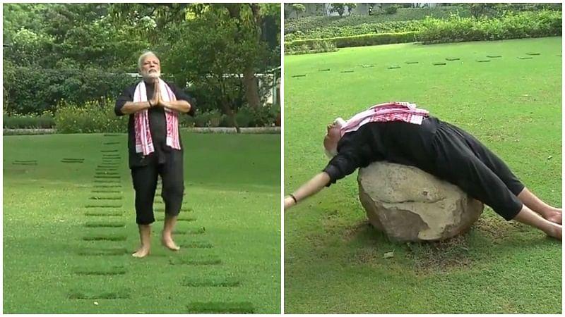Throwback Thursday: When PM Modi's fitness regime had netizens in splits