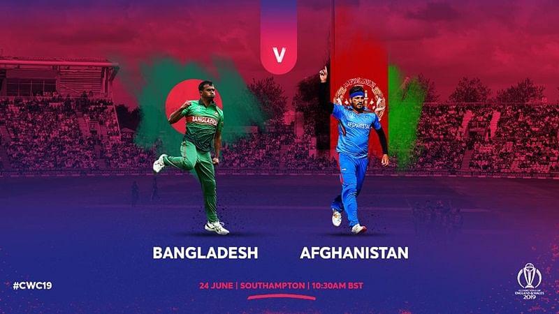 Cricket Score - Bangladesh vs Afghanistan World Cup 2019 Match 31