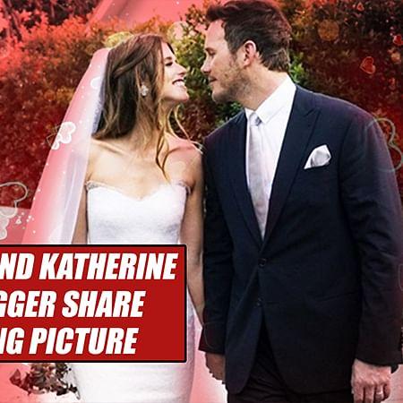Chris Pratt And Katherine Schwarzenegger Share First WEDDING Picture