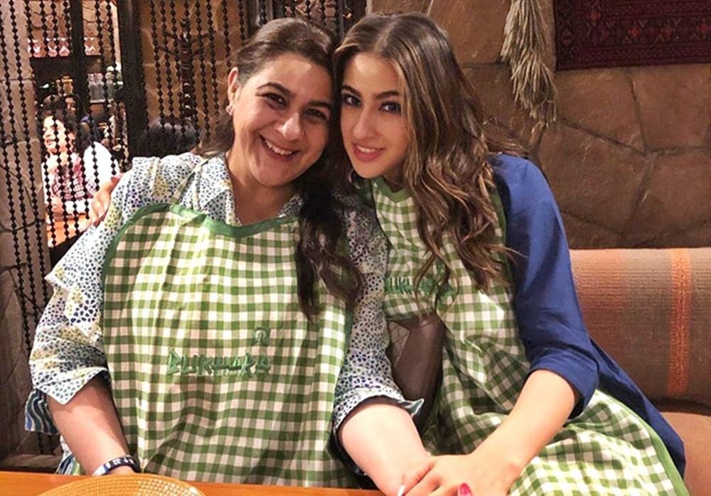 Sara Ali Khan shares an Eid special photo with mom Amrita Singh