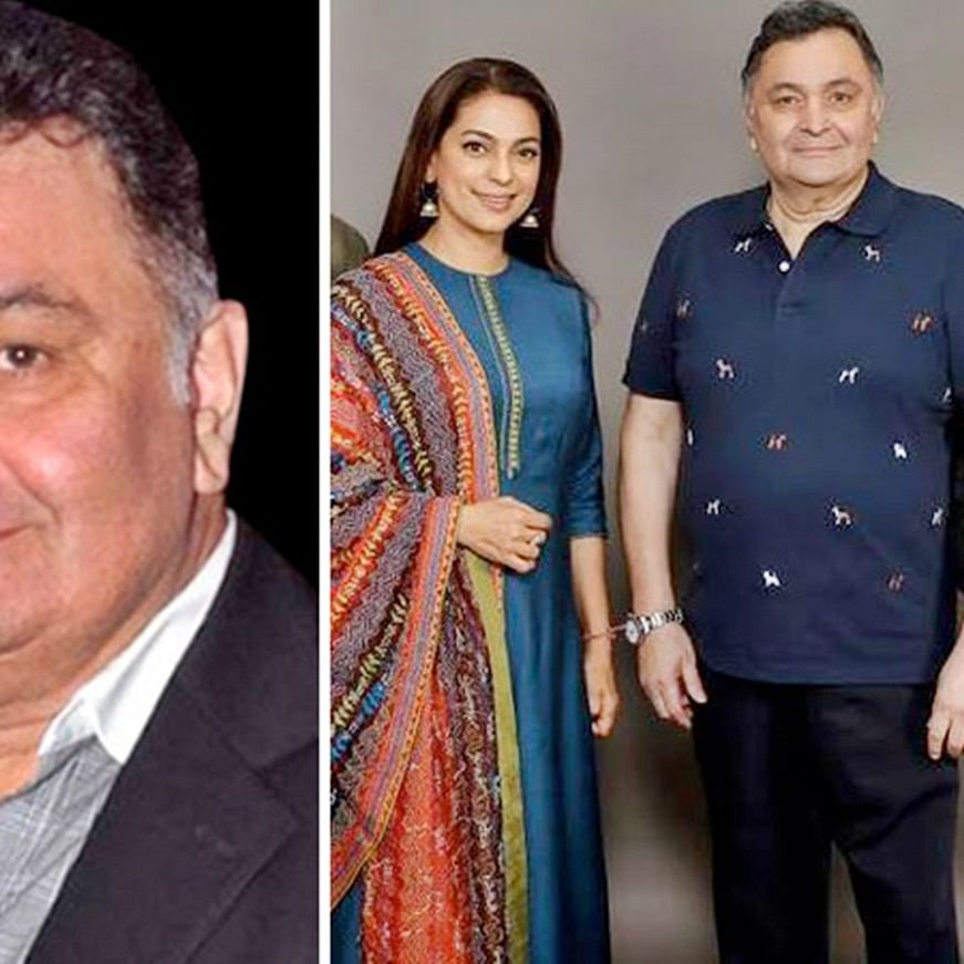 Rishi Kapoor to reunite with Juhi Chawla on the big screen, after returning from US