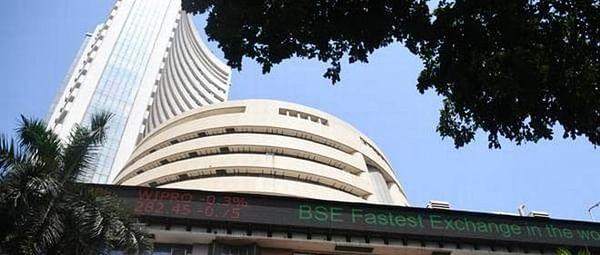 Sensex soars over 400 pts; TCS falls 3 pc