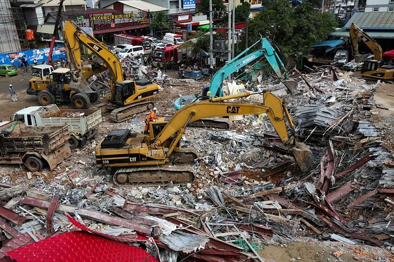 Death toll in building collapse in Cambodia rises to 24