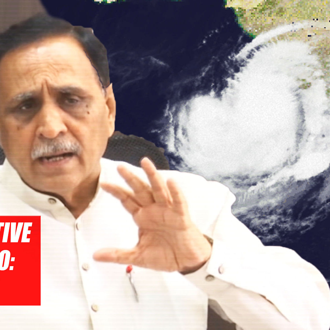 Cyclone Vayu Will Not Hit Gujarat, State Is Safe Now, Says CM Vijay Rupani