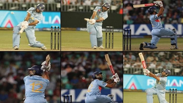 Yuvraj of Cricket! When Yuvi smashed 6 sixes in an over to record fastest T20I fifty