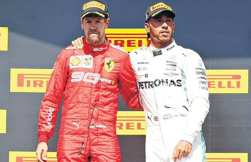 Sebastian Vettel's rage; Ferrari appeals