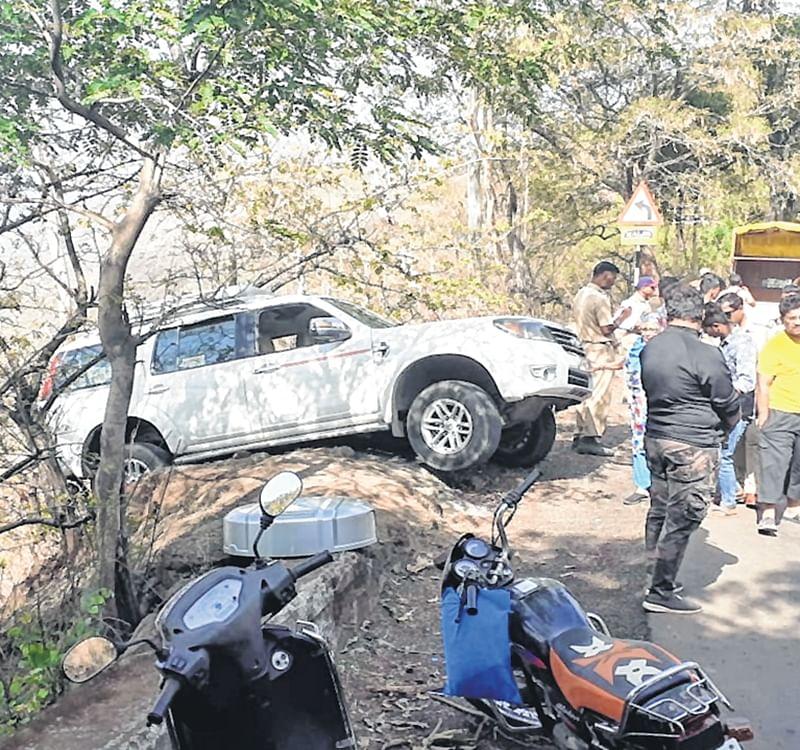 Mumbai: Major mishap averted on Wai-Panchgani Road