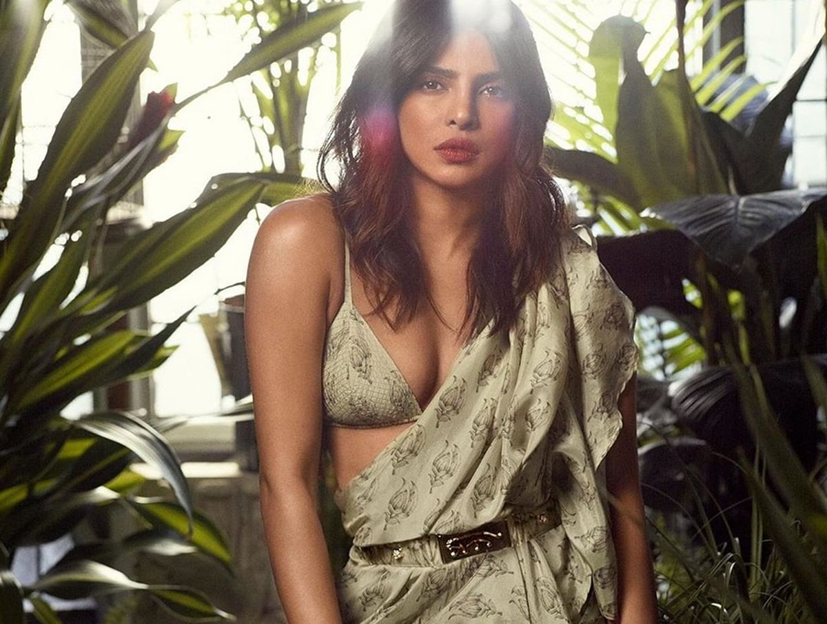 Priyanka Chopra brings on the Saree fever this summer!